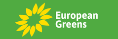 Logo van de European Greens